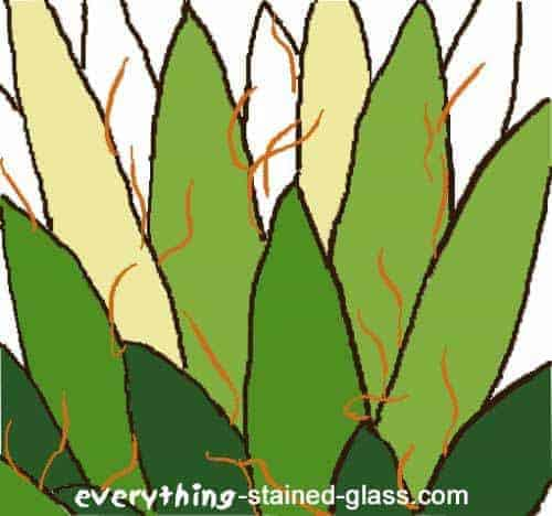 free stained glass design