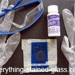 glass etching materials