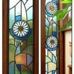 Stained Glass Daisies