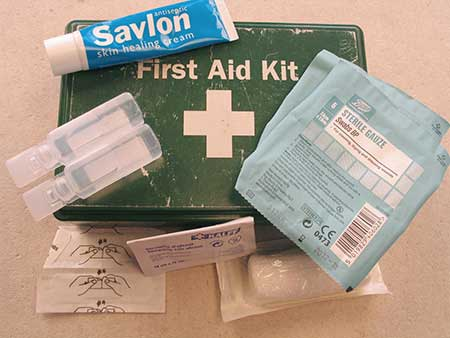 safety kit for stained glass