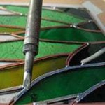 soldering stained glass