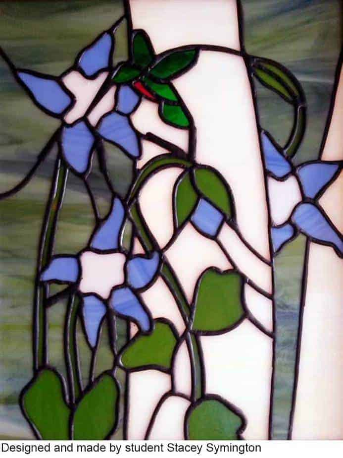 By stained glass student Stacey Symington