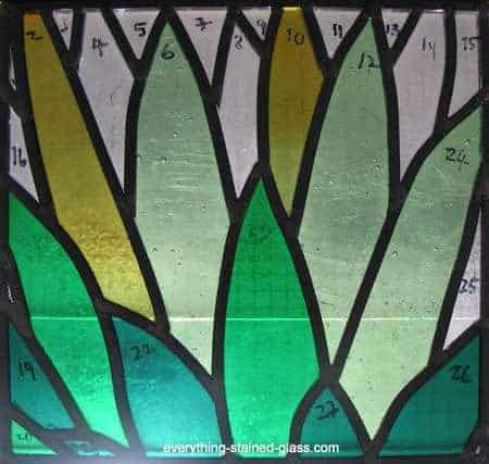soldered green cactus panel