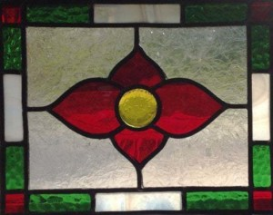 Leaded Stained Glass Artistry pane