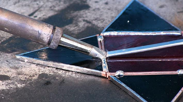 Soldering 'Hold and Lift' method