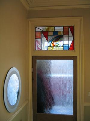 Glass Transom Window