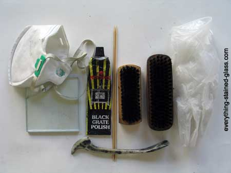tools for polishing lead came