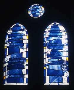 Lisa Berkl's blue Jacob's Ladder
