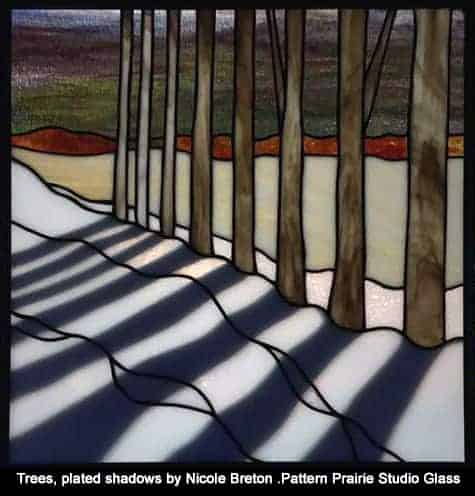 Plated Stained Glass by Nicole Breton-Prairie Studio Glass