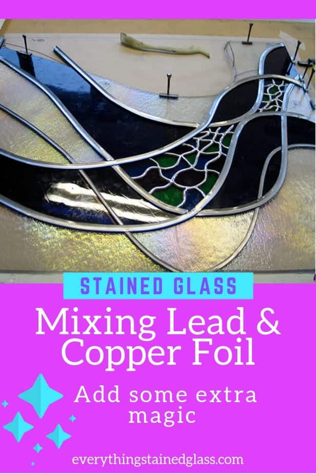 mixing lead and copper foil