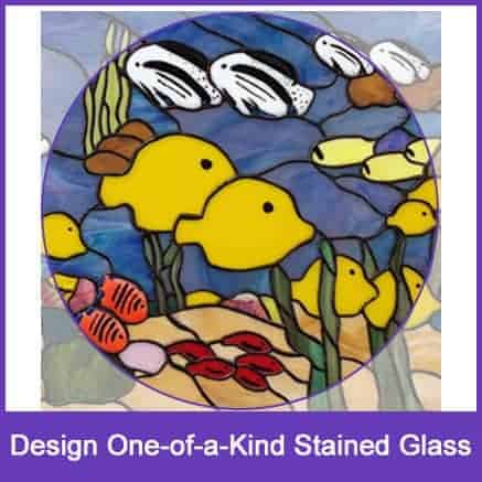 stained glass design course