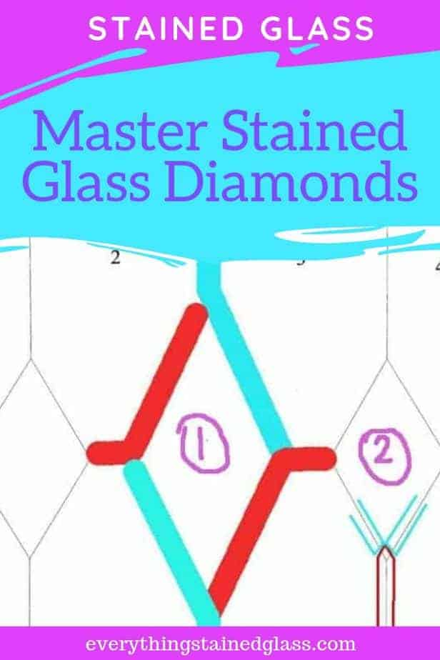 the joins you can use to master the assembly of stained glass diamonds