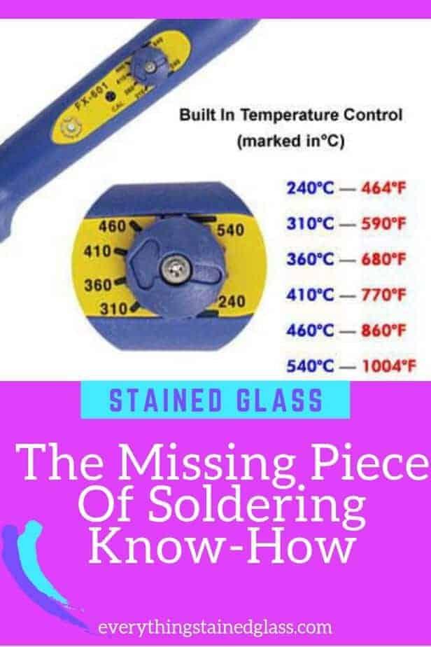 Soldering Temperature Guide
