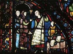 fur merchants Chartres window