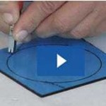 cutting glass circles