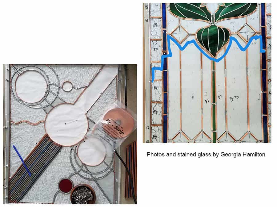 reinforcing stained glass windows