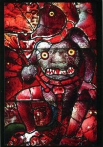 fantastic red devil at Fairford